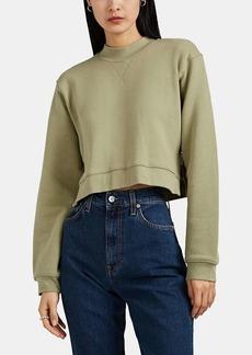 Current/Elliott Women's Message Cotton Crop Sweatshirt