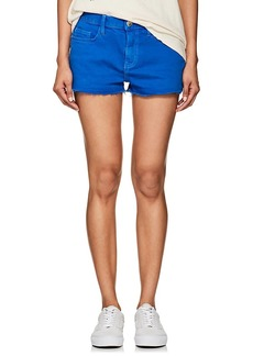 Current/Elliott Women's Mid-Rise Denim Shorts