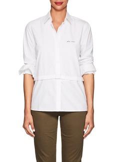 """Current/Elliott Women's """"Plus D'Amour"""" Cotton Poplin Shirt"""