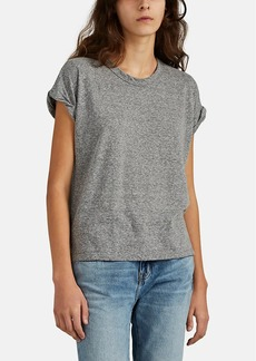 Current/Elliott Women's Roadie Rolled-Sleeve T-Shirt