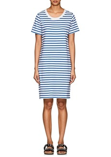 Current/Elliott Women's Striped Cotton T-Shirt Dress