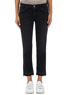 Current/Elliott Women's The Cropped Straight Jeans