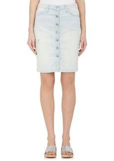 Current/Elliott Women's The Dotty Pencil Skirt