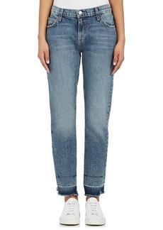 Current/Elliott Women's The Fling Distressed Jeans
