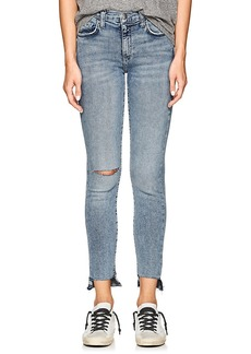 Current/Elliott Women's The High Waist Stiletto Skinny Jeans