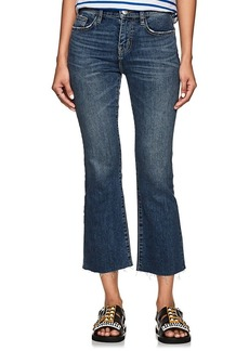 Current/Elliott Women's The Kick High Rise Flared Jeans