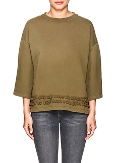 Current/Elliott Women's The Pompom Sweatshirt