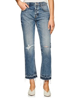 Current/Elliott Women's The Throwback Original Straight Jeans