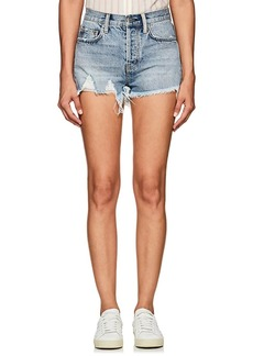 Current/Elliott Women's The Ultra High Waist Denim Shorts