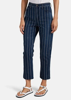 "Current/Elliott Women's ""The Vintage Cropped"" Slim Jeans"