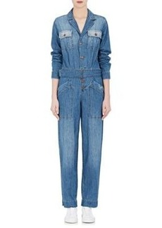 Current/Elliott Women's The Whitney Cotton Jumpsuit