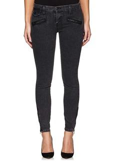 Current/Elliott Women's The Zip Moto Jeans