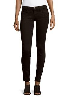 Current/Elliott Embellished Skinny-Fit Ankle Jeans
