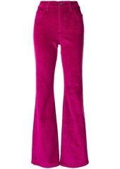 Current/Elliott flared corduroy trousers