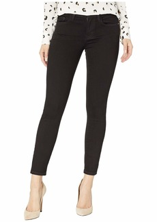 Current/Elliott High-Waist Stiletto in 0 Clean Stretch Black