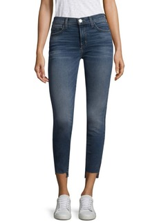 Current/Elliott High Waisted Stiletto Skinny Jeans