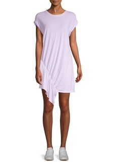 Current/Elliott Pacific Avenue Linen & Cotton Ruffle Dress