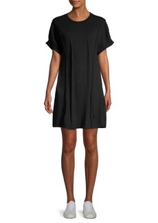 Current/Elliott Pinticked Mini T-Shirt Dress