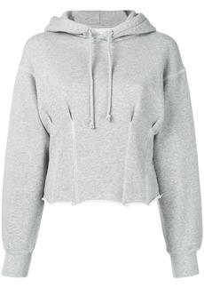 Current/Elliott pintuck hoodie