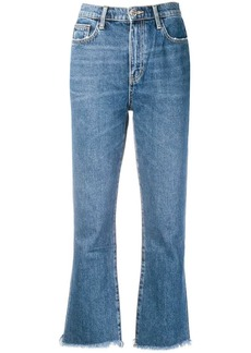 Current/Elliott raw hem jeans