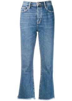 Current/Elliott raw hem jeans