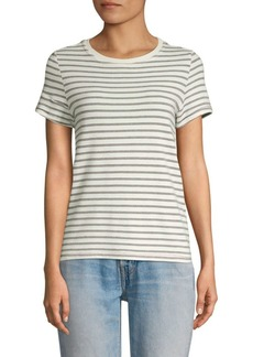 Current/Elliott Retro Lurex Striped Tee