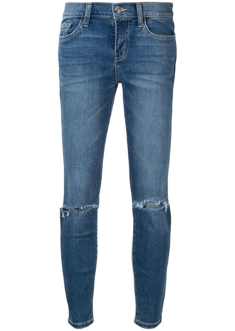 Current/Elliott ripped detail jeans