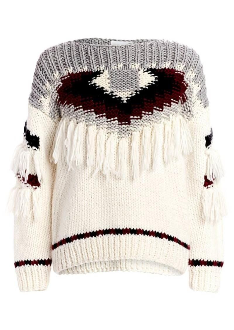Current/Elliott Rosemary Fringe Sweater