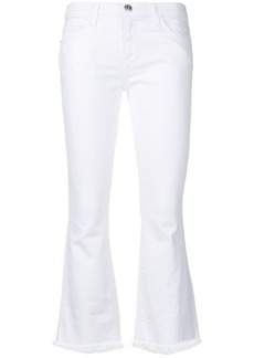 Current/Elliott slim-fit cropped trousers