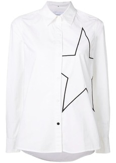 Current/Elliott star embroidered shirt