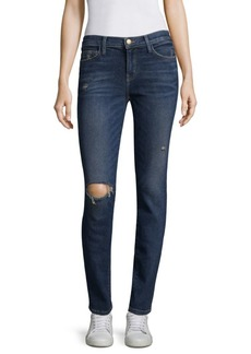 Current/Elliott Stiletto Distressed Skinny Jeans