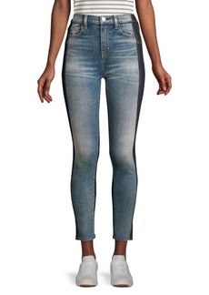 Current/Elliott Stilleto Mashed High-Rise Jeans