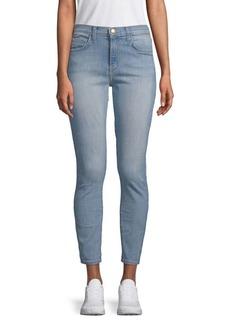 Current/Elliott Stretch Cotton Cropped Jeans