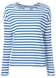 Current/Elliott striped jersey top