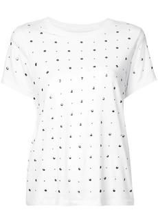 Current/Elliott studded T-shirt