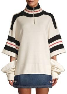 Current/Elliott The 99 Convertible Sweater