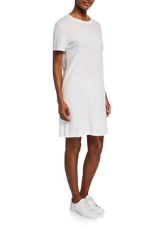 Current/Elliott The Beatnick Crewneck Short-Sleeve Dress
