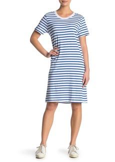 Current/Elliott The Beatnik Striped T-Shirt Dress