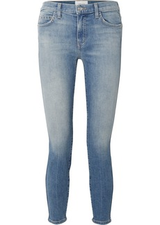 Current/Elliott The Caballo Cropped High-rise Skinny Jeans