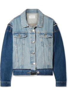 Current/Elliott The Carina oversized denim jacket
