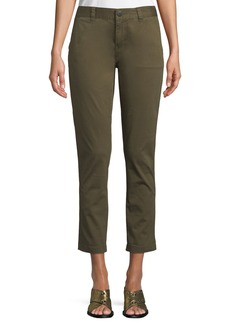 Current/Elliott The Confidant Straight-Leg Ankle Pants
