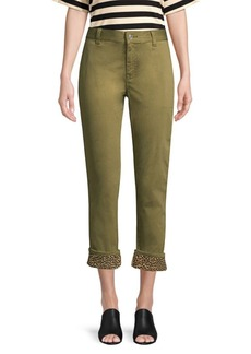 Current/Elliott The Confidant Cropped Chino Pants