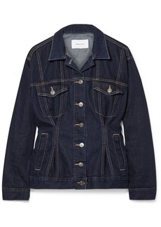 Current/Elliott The Corset Trucker Denim Jacket