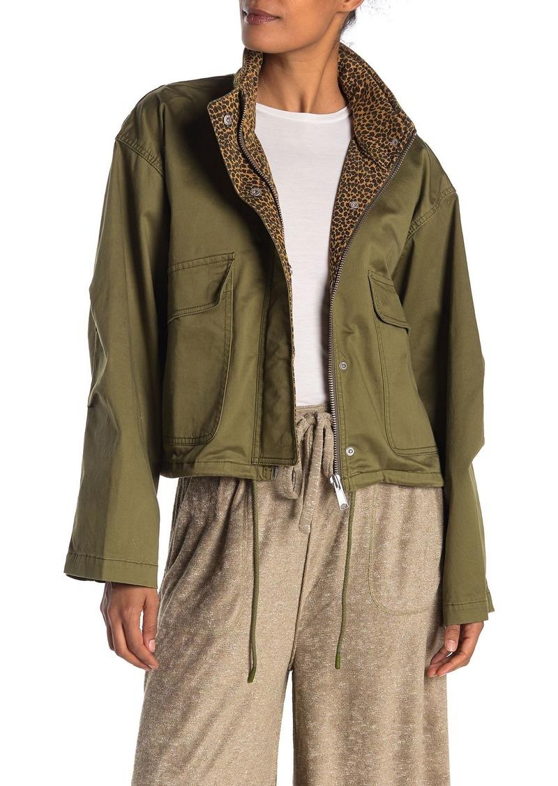 Current/Elliott The Cropped Infantry Jacket