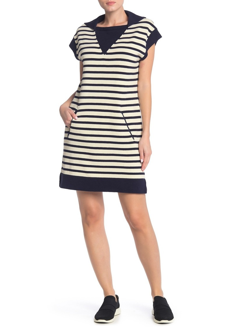 Current/Elliott The Elsie Striped Sweater Dress