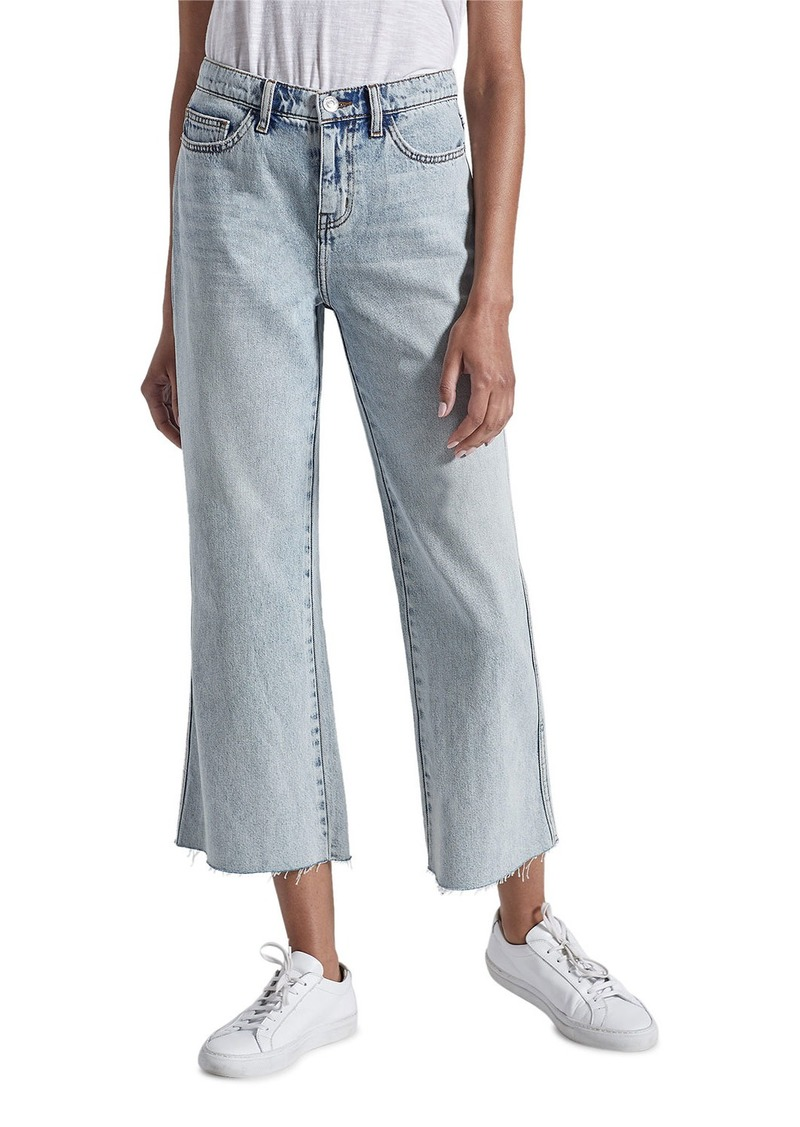 Current/Elliott The Femme Cropped Bell Jeans
