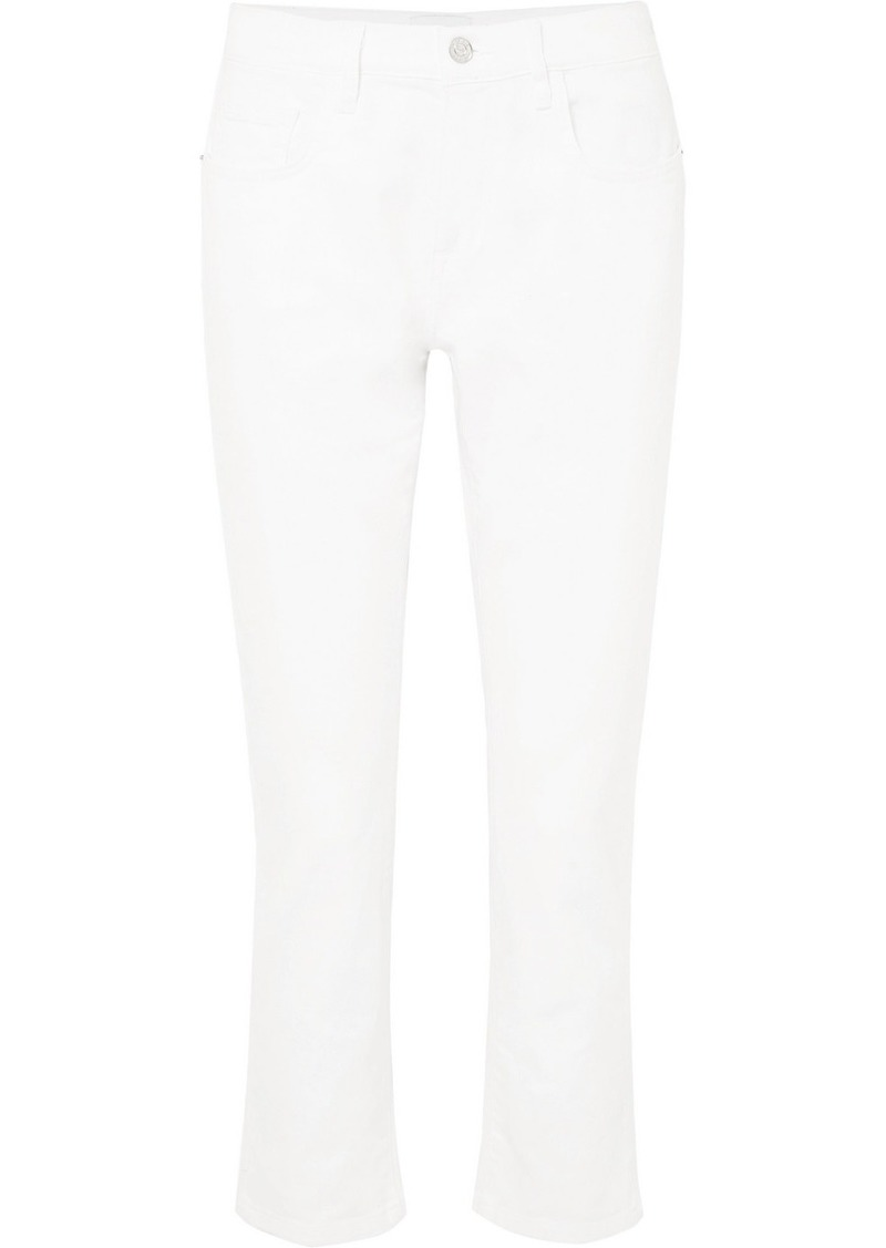 Current/Elliott The Fling Low-rise Slim Boyfriend Jeans