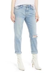 Current/Elliott The Fling Ripped Boyfriend Jeans