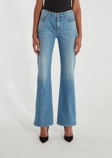 Current/Elliott The High Rise Scooped Jarvis Flare Jean