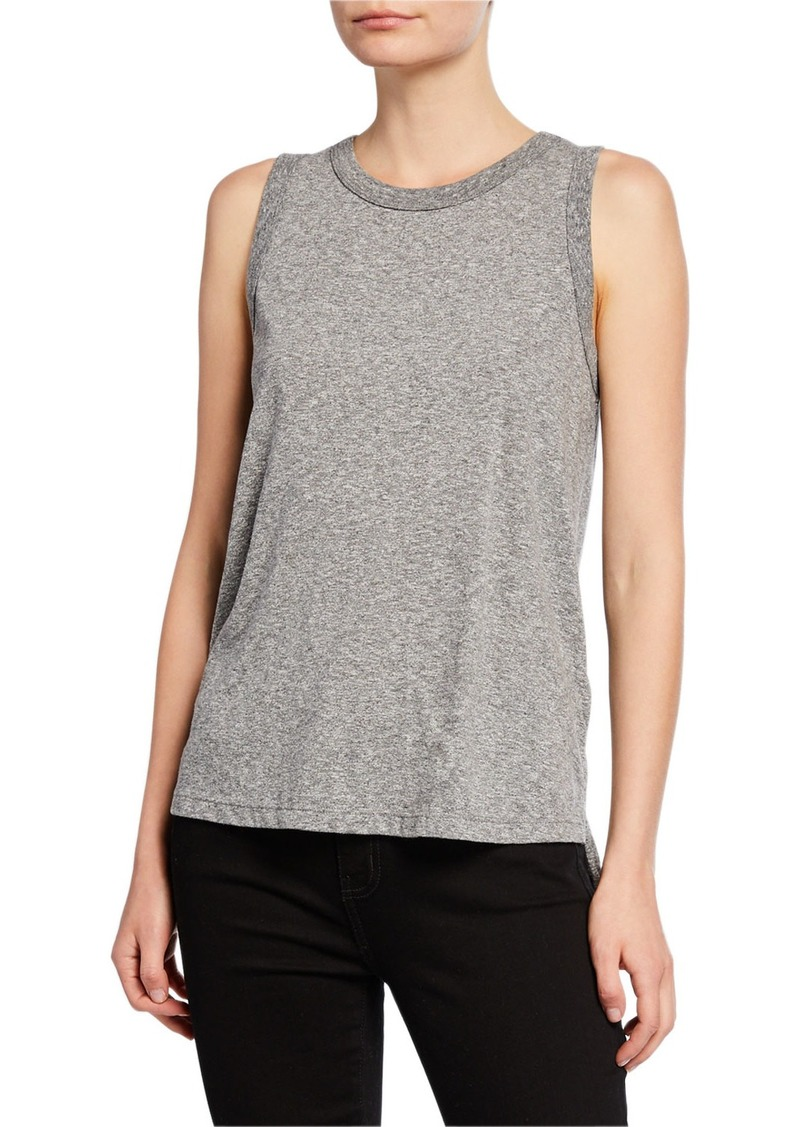 Current/Elliott The Muscle Tank  Gray
